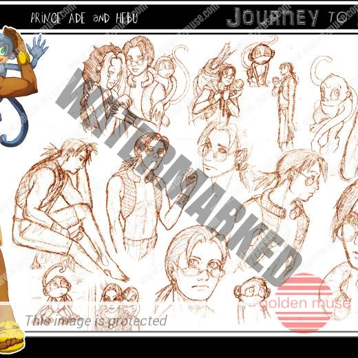 Ade Character Sketches