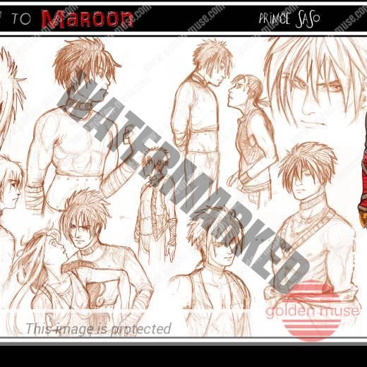 Saso Character Sketches